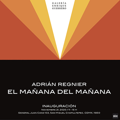 exposicion,Galería Enrique Guerrero,Adrián Regnier