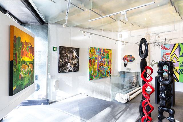 aura galerias, lomas chapultepec, cdmx