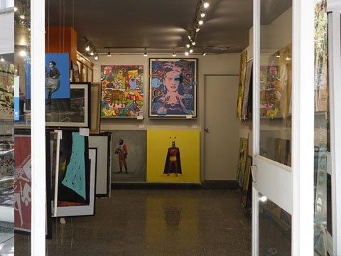 tinta naranja, galería, hipódromo condesa, cdmx